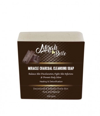 Mirah Belle Naturals Miracle Charcoal Cleansing Soap