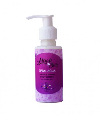 Mirah Belle Naturals White Musk Soothing And Softening Body Lotion