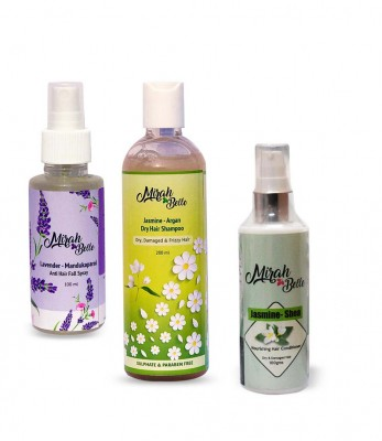 Mirah Belle Naturals Hair Colour And Protection Silver Kit