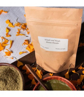 Woods and Petals Organic Henna Powder