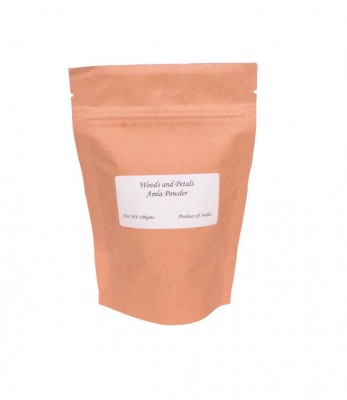 Woods and Petals Organic Amla Powder For Hair ( Indian GooseBerry Powder )