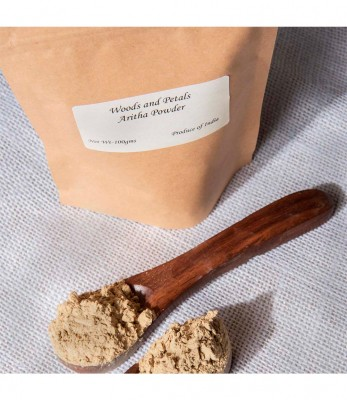 Woods and Petals Organic Reetha Powder ( Soap Nut Powder )