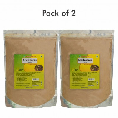 Shikakai Powder - 1 kg powder - Pack of 2