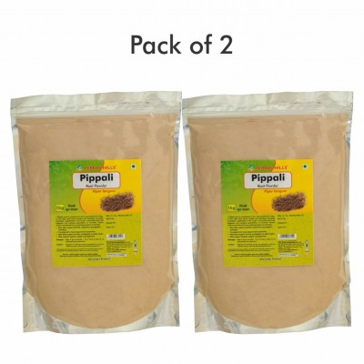 Pippali Root Powder - 1 kg powder - Pack of 2