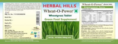 Herbal hills Wheat-O-Power 60 Tablet