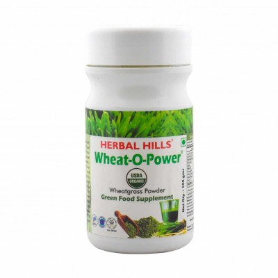 Herbal hills Wheat-O-Power 100 Gms Power