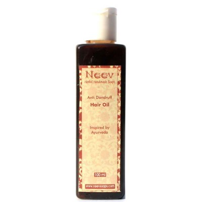 Neev Herbal Anti Dandruff Hair Oil Inspired by Ayurveda