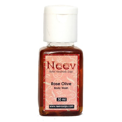 Neev herbal Rose Olive Body Wash For Youthful and Glowing Skin