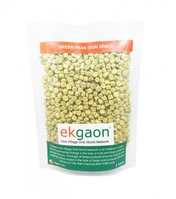 Ekgaon Green Peas (Sun Dried)
