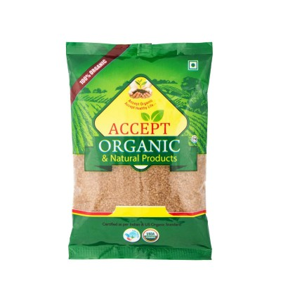 ACCEPT ORGANIC BROWN SUGAR 500 gm