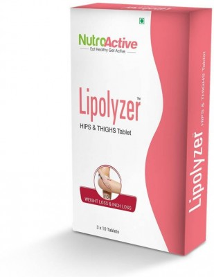 NutroActive Lipolyzer Hips And Thighs Tablets