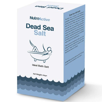 NutroActive Dead Sea Salt 350 gm