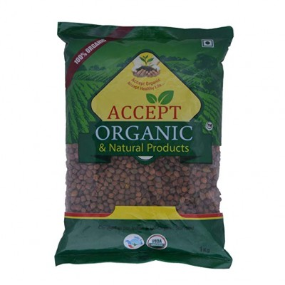 Accept Organic Brown Chana  500 gm