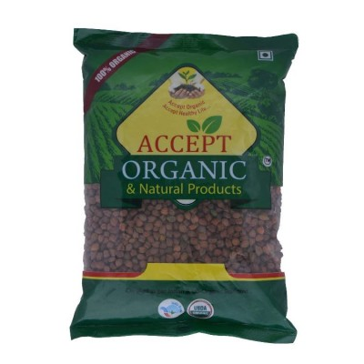 Accept Organic Brown Chana 1 kg