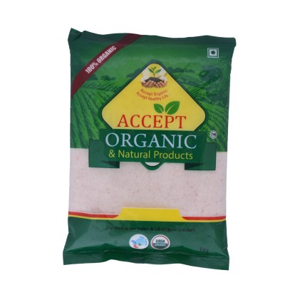 Accept Organic HIMALAYA ROCK SALT PINK POWDER 1 kg