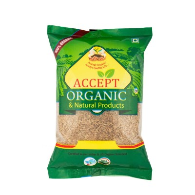 Accept Organic Cumin Seeds 500 gm