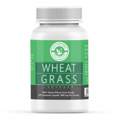 Holy Natural the Wonder of World Wheat Grass Capsule