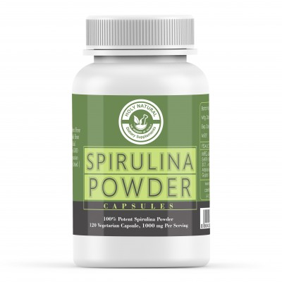 Holy Natural the Wonder of World Spirulina Capsule