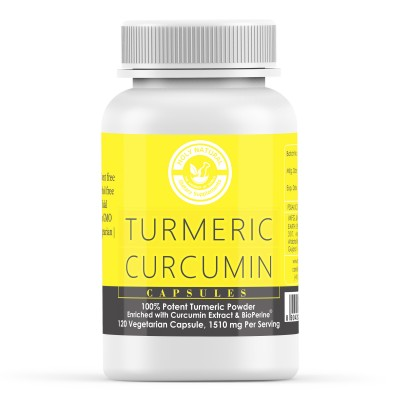 Holy Natural the Wonder of World Turmeric Curcumin Capsule Enriched with Bioperine