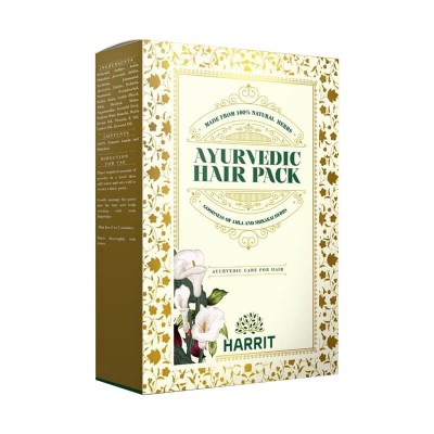 Harrit Health Care Ayurvedic Hair Pack
