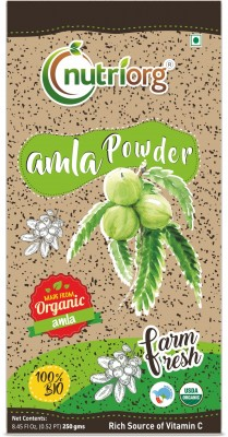 Nutriorg Certified Organic Amla Powder 250g