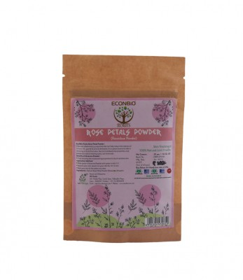 EcoNBio Roots Rose Petals Powder 50 gm