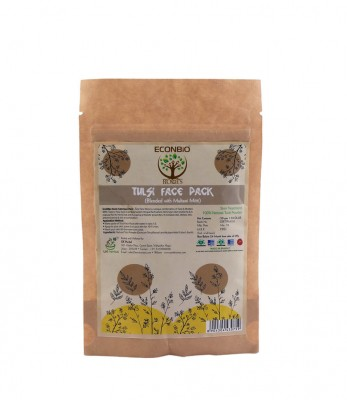 EcoNBio Roots Natural Tulsi Face Pack 50 gm
