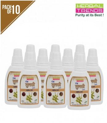 Herbal Trends Panch Tulsi drops pack of 10
