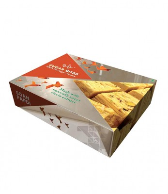 Ray Health NoSugar Soan Papdi - Orange