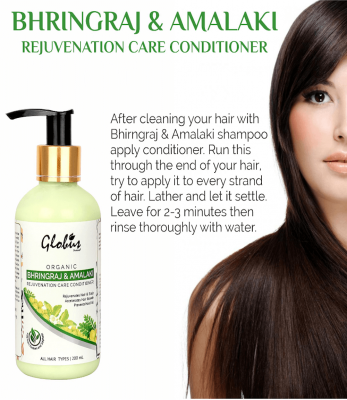 Globus Naturals Rejuvenation Care Conditioner with Goodness Of Bhringraj & Amalaki 200ml