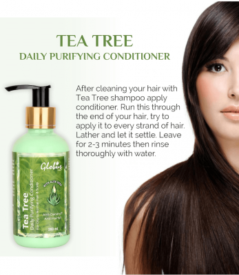 Globus Naturals Tea Tree Daily Purifying Conditioner with Aloe Vera 200 ml