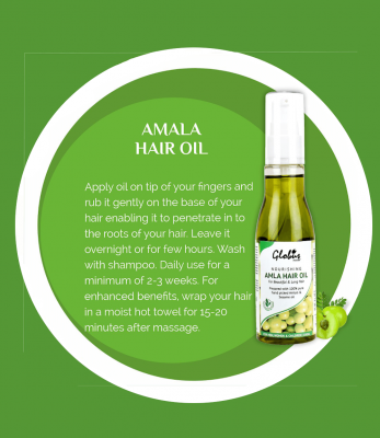 Globus Naturals Nourishing Amla Hair Oil 100ml