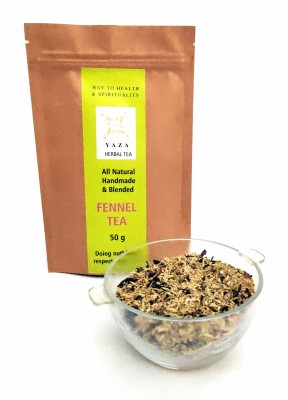 Yaza Herbal Fennel Green Tea (50 GMS) The Digestion Don and Immunity Booster