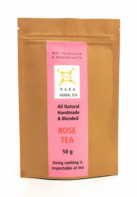 Yaza Herbal Rose Tea (50 GMS) The Spirit Uplifter with Great Aroma