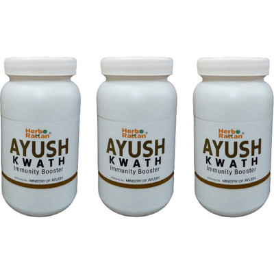 HERBO RATTAN AYUSH KWATH IMMUNITY BOOSTER PACK OF 3