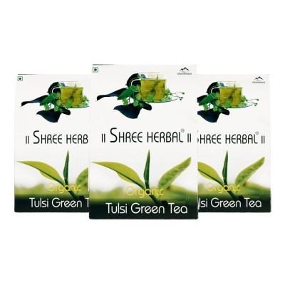 Buy Organic Tulsi Green Tea (Pack of 3) and Get 1 Pack Organic Green Tea FREE