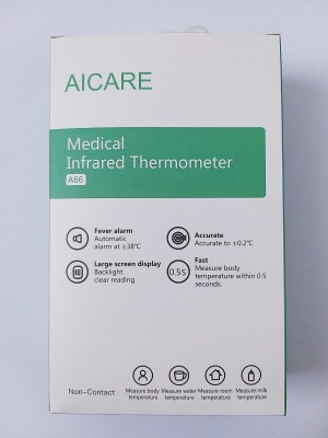 PHS AICARE A66 Medical Infra Red Thermometer