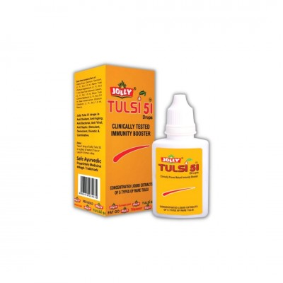 Jolly Tulsi 51 Drops (Pack of 2)