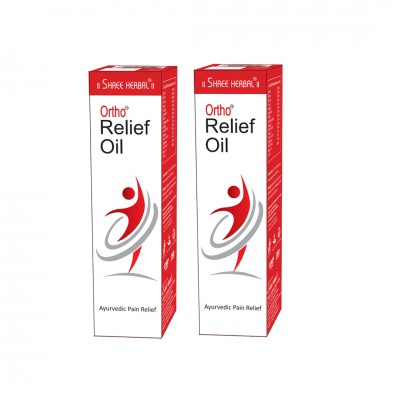 Buy Shree Herbal Ortho Relief Oil (Pack of 2) and Get 1 Organic Green Tea FREE
