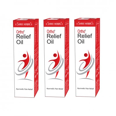 Buy Shree Herbal Ortho Relief Oil (Pack of 3) and get 1 Pack of Organic Green Tea Free
