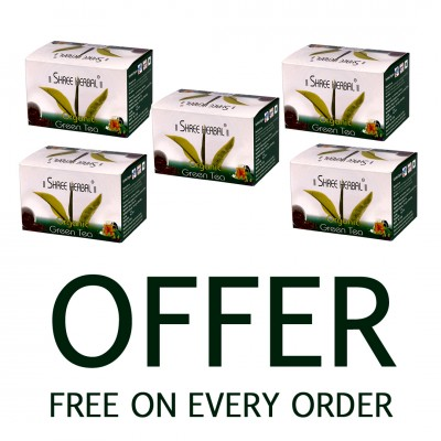 Buy Shree Herbal Giloy Tulsi Tablet (Pack of 5) and Get 1 Pack of Hair Growth Formula FREE