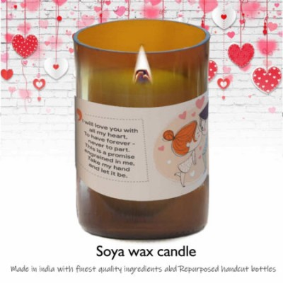 """Pure Soy wax candle