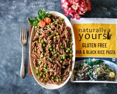 Gluten Free chia & Black rice Pasta (Pack of 2)