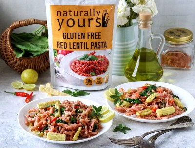 Naturally Yours Red Lentil Pasta (Pack of 2)
