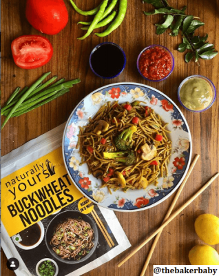 Naturally Yours Buckwheat Noodles (Pack of 2)