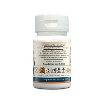 DEEP AYURVEDA | OBESIT | WEIGHT LOSS SUPPORT | 30 EXTRACT BASED VEG. CAPSULE | PACK OF 1