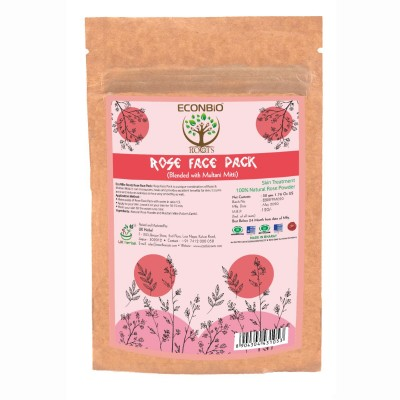 Econbioroots Rose Face Pack (Pack of 3)
