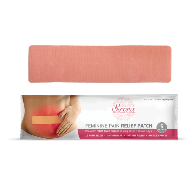 Sirona Feminine Pain Relief Patches (1 Pack - 5 Patches Each)