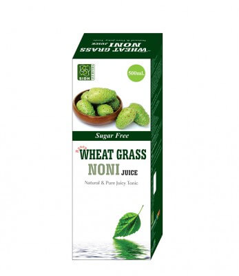 Sidh Ayurveda Wheat Grass Noni Juice